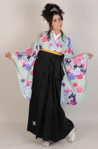 益若つばさ二尺袖着物TN7袴TH101M/L