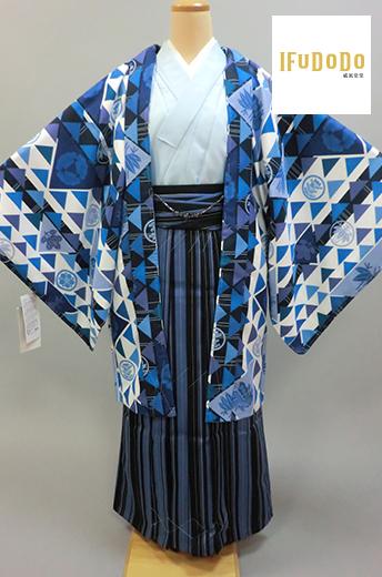 紋付袴セット10-010M【威風堂堂】