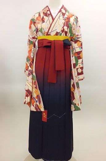 小学生女児二尺袖袴017
