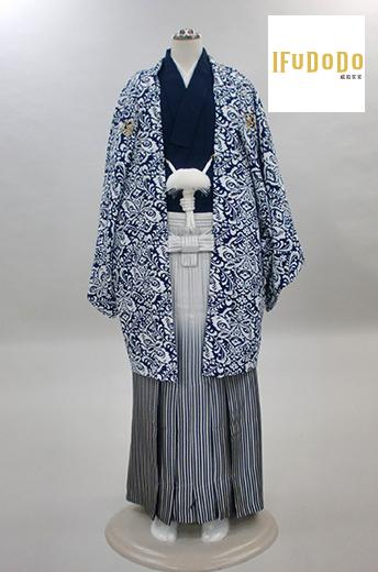 威風堂堂紋付袴セット19-001