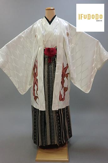 紋付袴セット10-011M【威風堂堂】
