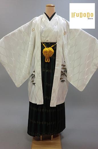 紋付袴セット10-012M【威風堂堂】