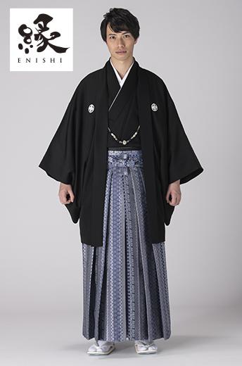 縁紋付袴セット-K-2