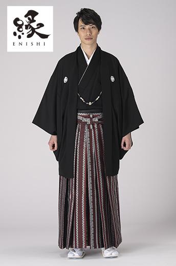 縁紋付袴セット-K-1